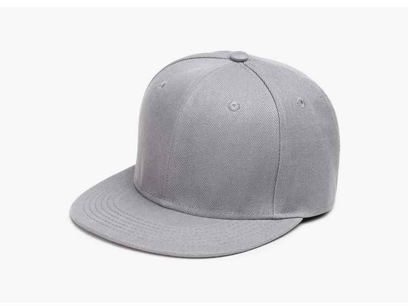 Polyester Cotton Unisex Hip Hop Cap, Simple Classic Caps 6