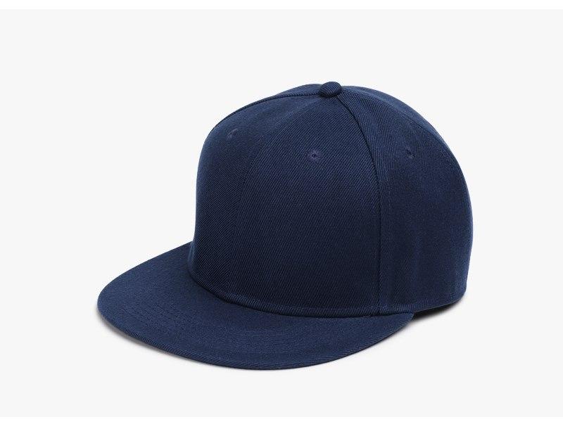 Polyester Cotton Unisex Hip Hop Cap, Simple Classic Caps 8