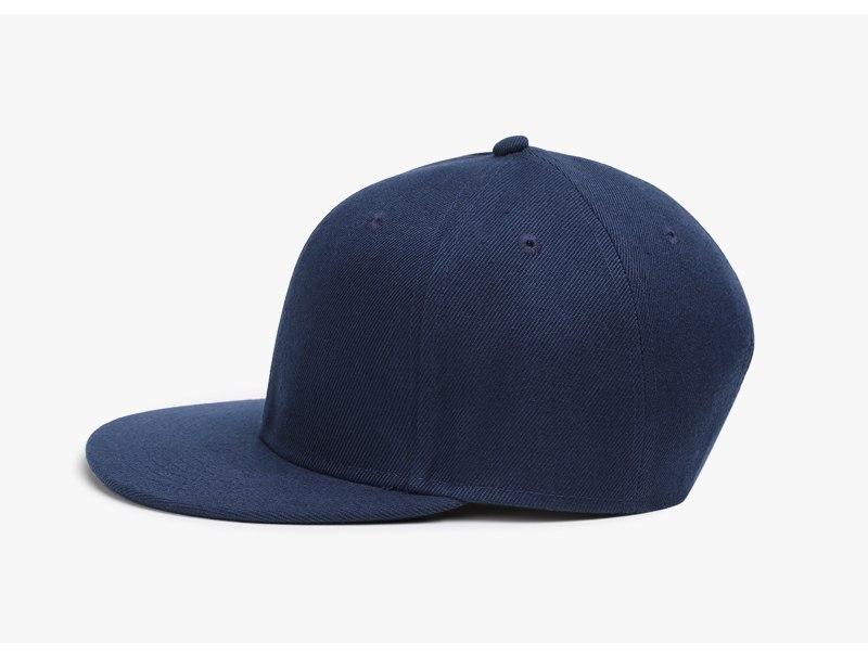 Polyester Cotton Unisex Hip Hop Cap, Simple Classic Caps 9
