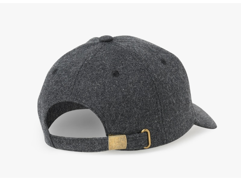 Brand NUZADA Autumn Winter Keep Warm Snapback Bone Men Women Baseball Caps Hats Cap Simpl Color Black Grey Woolen 14