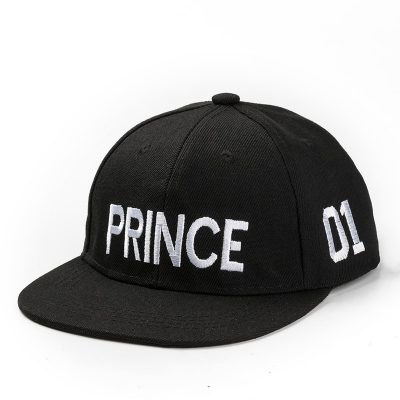 PRINCE PRICESS Embroidery Snapback Hat Acrylic Boys Girls Baseball Cap Children Gifts Kids Hip-hop  Caps
