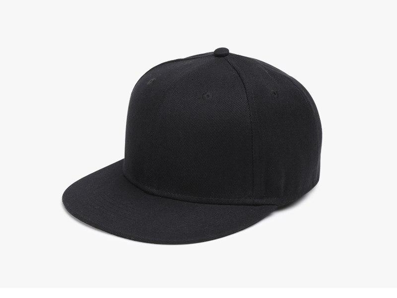 Polyester Cotton Unisex Hip Hop Cap, Simple Classic Caps 2