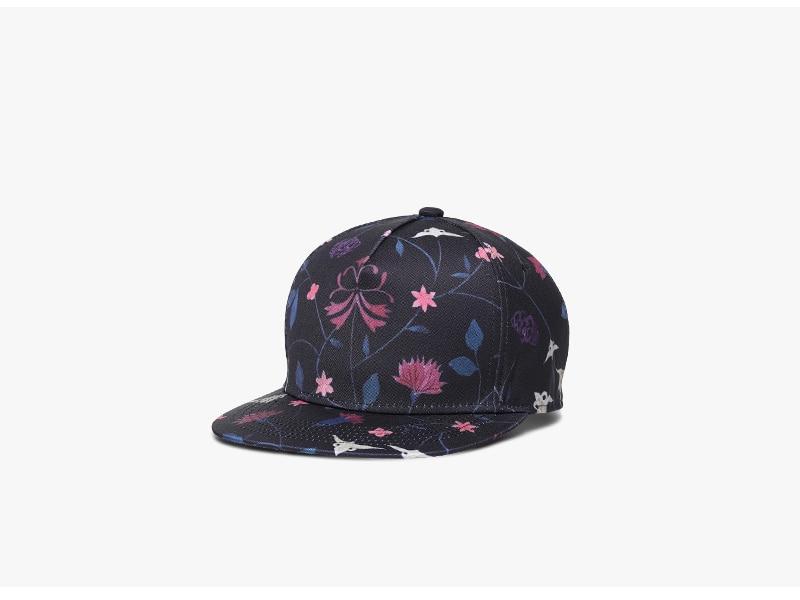Unisex 3D Printing Hip Hop Cap, Fashion Design Flowers Polyester Cotton Neutral Cap 3